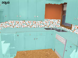 5 ideas to repaint rebecca u0027s faded wood kitchen cabinets retro