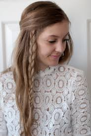 hair tutorial two easy side braids to try this summer annie spano