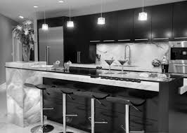 Black Kitchen Design Black And White Kitchen Designs Design Equipped With European