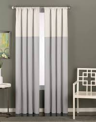 color block curtains gray business for curtains decoration