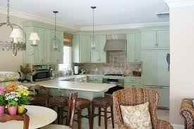 avocado green kitchen cabinets green kitchen cabinets kitchen traditional with bar stools barstools