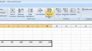 Sensitivity Analysis Excel Template Sensitive Analysis On Excel