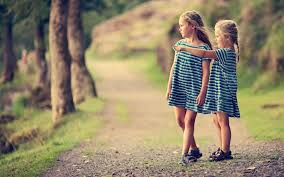 Best Friend Wallpaper by Cute Kids Friendship Wallpapers My Free Wallpapers Hub
