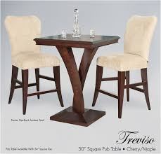 Square Bistro Table Enchanting Square Bistro Table And Chairs Best 25 Bar Height Table