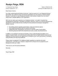 dietitian cover letter wellness cover letter exles for healthcare livecareer