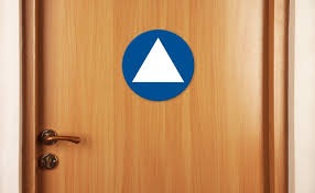 Gender Neutral Bathroom Signs - first state to enact gender neutral restroom signs