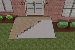 Concrete Patio With Pavers How To Install Pavers Existing Concrete Patio Mypatiodesign