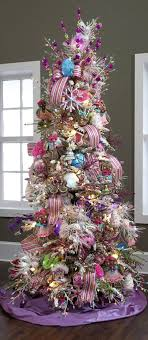 pink and purple tree home design ideas