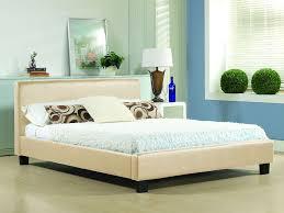Single Leather Bed Frame Time Living Hamburg Single Leather Bed 3ft Bedframeshop Co Uk