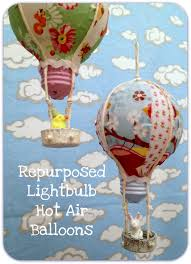 balloons shaped like light bulbs jennuine by rook no 17 repurposed light bulb air balloon diy