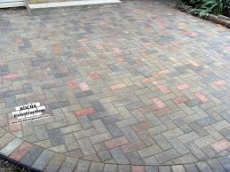 Brick Paver Patio Installation Paver Brick Patio Installation In Bloomfield Hills Mi 4 X 8 With