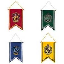 diy harry potter house banners printables harry potter