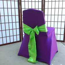 purple chair covers kids chairs overlays event services