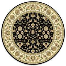 Black Round Rug Buy 8 Foot Round Rug From Bed Bath U0026 Beyond