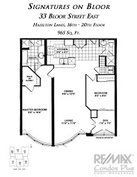 55 Harbour Square Floor Plans by Signatures On Bloor Toronto Remax Condos Plus