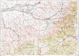 Louisiana Map With Cities And Towns by Download Topographic Map In Area Of Hermiston Pendleton La