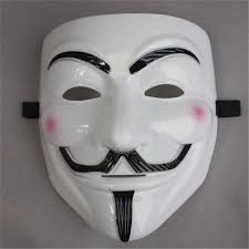 Super Scary Halloween Masks Sales V For Vendetta Mask Guy Fawkes Anonymous Halloween Masks