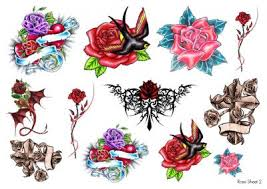https www facebook com amazingtemporarytattoos roses temporary