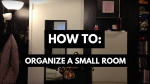 how to organize a small room when you have a lot of stuff