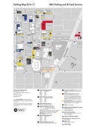 Smu Campus Map Smu Campus Parking Map