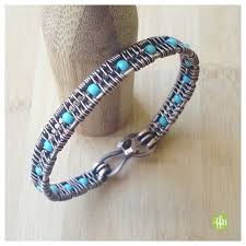 make bead bracelet wire images 25 unique wire wrapped bangles ideas jewelry jpg