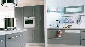 element de cuisine gris meuble cuisine gris intérieur intérieur minimaliste