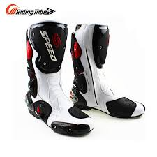 motocross bike boots men s motorcycle microfiber leather boots dirt bike boots speed