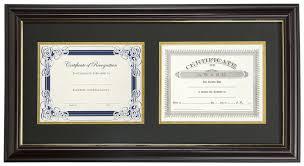 diploma framing dual vertical diploma frame 2 8 5 x 11 certificates