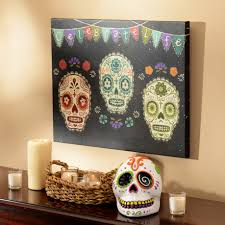 sugar skulls home decor decor around the world day of the dead my kirklands blog