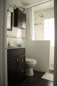 small bathroom designs with walk in shower best 25 half wall shower ideas on bathroom showers