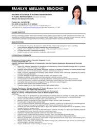 Sample Resume Business by Jobstar Resume Guide Template For Functional Resumes Advice