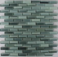 Hand Painted Tiles For Kitchen Backsplash Decorating Surfz Up Aqua Blue Grey Hand Painted Glass Mosaic