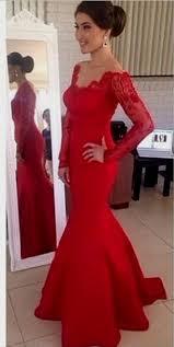 red long sleeve short prom dress naf dresses