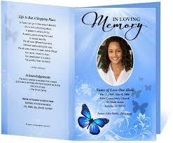 Funeral Bulletin Templates 19 Funeral Bulletin Template Free Funeral Program Template
