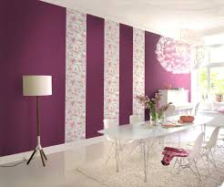 Wohnzimmer Deko Pink Farbgestaltung Wohnzimmer Streifen
