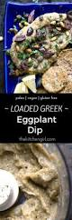 Mediterranean Vegan Kitchen - loaded greek eggplant dip mediterranean style baba ganoush no tahini