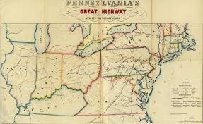 Erie Pennsylvania Map by Map Of The Northeast And Erie Railroad 1850s