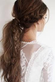 coiffure mariage boheme coiffure mariage 100 idées pour cheveux courts et longs