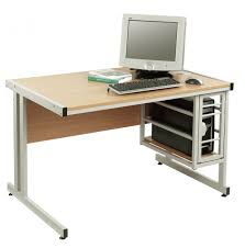 Quality Computer Desk Computer Desk With Tower Storage Modern Living Room Design With