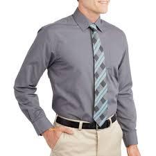 george s sleeve dress shirt walmart