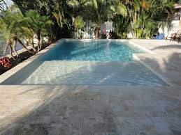 new great lakes in ground fiberglass pool by san juan sunbench and bubbler fiberglass pool can still use electric