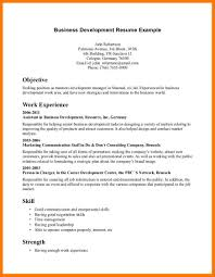 Business Development Resume Samples by 7 Business Resume Objective Park Attendant