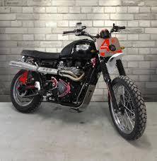 triumph motocross bike triumph scrambler bisbetica