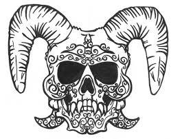 tattooed skull by karadarkthorn on deviantart
