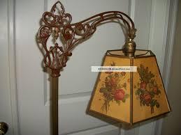 Art Deco Floor Lamps Antique Bridge Arm Floor Lamp U2013 Gurus Floor
