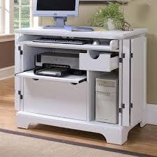 white computer armoire desk overstock com naples white compact computer desk hutch create a