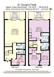 3 bedroom penthouse for sale in kendal steps st georges fields