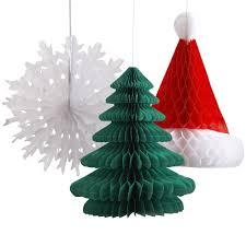 honeycomb paper christmas decorations u2013 decoration image idea