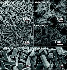 synthesis and characterization of germanosilicate molecular sieves