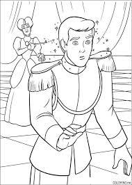 6 images cinderella prince coloring pages cinderella